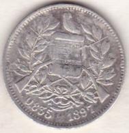 Guatemala . 2 Reales 1894 . Argent . KM# 167 - Guatemala