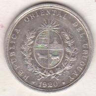 Uruguay . 20 Centesimos 1920. Argent . KM# 24 - Uruguay