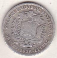 Venezuela . 2 Bolivares 1926 . Argent .Y# 23 - Venezuela