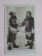MISSIONS ESQUIMAUDES (Série X) Missionnaires Oblats De Marie-Immaculée (Paris) Costume Local - Anno 19?? ( Zie Foto's ) - Cartes Postales