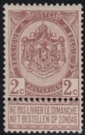 Belgie   .           OBP     .    55      .       **      .    Postfris      .   /   .   Neuf  ** - 1893-1900 Thin Beard