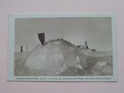 MISSIONS ESQUIMAUDES (Série X) Missionnaires Oblats De Marie-Immaculée (Paris) L'Iglou - Anno 19?? ( Zie Foto's ) - Cartes Postales