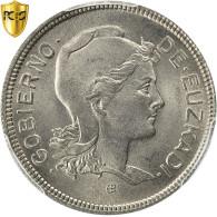 Monnaie, SPAIN CIVIL WAR, EUZKADI, 2 Pesetas, 1937, Bruxelles, PCGS, MS65, FDC - Zone Nationaliste