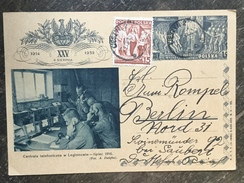 E15 Polen Poland Pologne Ganzsache Stationery Entier Postal Ppsc P 87 Telefon - Ganzsachen
