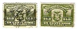 PANAMA, Revenues, Used, F/VF - Panama