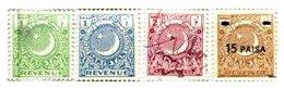 PAKISTAN, Revenues, Used, F/VF - Pakistan