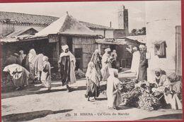 Algerie Biskra Market Scene Un Coin Au Marche Algeria (Big Fold - Grand Pli) - Algérie