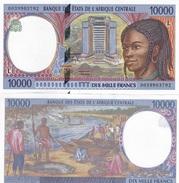 Central African St. Gabon - 10000 Francs 2000 L AUNC Lemberg-Zp - Central African States