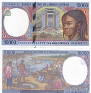 Central African St. Gabon - 10000 Francs 2000 L AUNC Lemberg-Zp - Stati Centrafricani