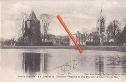 Parc D'ENGHIEN - La Chapelle Et L'ancienne Résidence Du Duc D'Arenberg (vue Prise En Hiver) - Edingen