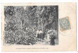 SANNOIS - L'avenue Rozée Après Le Cyclone Du 16 Juillet 1905 - Sannois