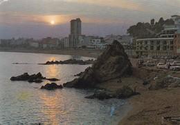 Postcard Lloret De Mar Atardecer Costa Brava Spain PU 1962 My Ref B22110 - Other