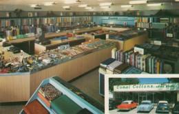 New Braunfels Texas, New Braunfels Textime Mills Store Interior, Adverstisement C1950s Vintage Postcard - United States