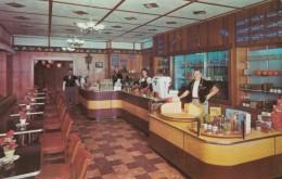 Wilmot Ohio, Alpine Cheese Factory's Cheese & Coffee Shop Interior, Adverstisement C1950s Vintage Postcard - United States