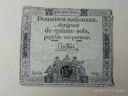 15 Sol 1792 - Francia