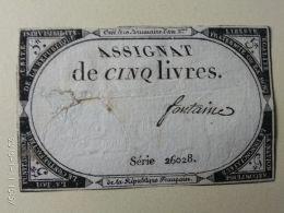 5 Livres - Francia