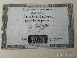 10 Livres - Francia
