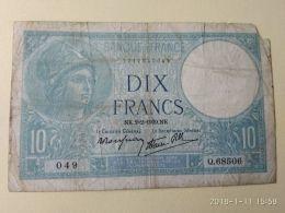 10 Francs 1939 - 5 F 1917-1940 ''Violet''