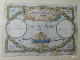 50 Francs 1932 - 1871-1952 Circulated During XXth