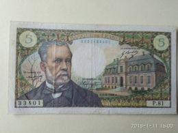 5 Francs 1968 - 1962-1997 ''Francs''