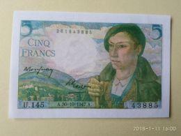 5 Francs 1947 COPIA - 1871-1952 Antichi Franchi Circolanti Nel XX Secolo