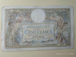 100 FRANCS 1934 - 1871-1952 Anciens Francs Circulés Au XXème