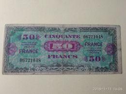 50 FRANCS 1944 - Francia