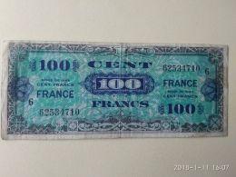 100 FRANCS 1944 - Francia