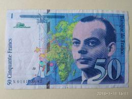 50 Francs 1994 - 1962-1997 ''Francs''