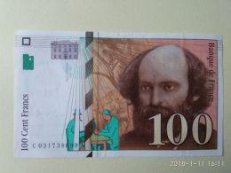 100 Francs 1997 - 1992-2000 Ultima Gama