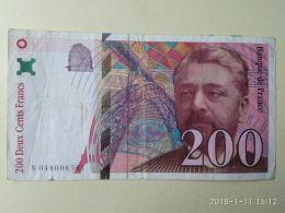 200 Francs 1996 - 200 F 1995-1999 ''Eiffel''