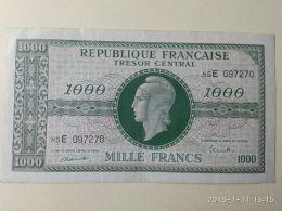 1000 Francs 1945 - Tesoro