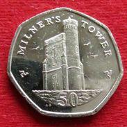 Isle Of Man 50 Pence 2016  Ile De Man Isla De Man Isola Di Man - Regionale Währungen