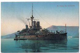 Nave Da Guerra Re Umberto- Viaggiata 9/9/1919 - Guerra
