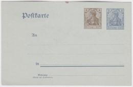 Deutsches  Reich    .   Michel    .     Postkarte      .     **     .     Postfrisch  .   /   .   MNH - Deutschland