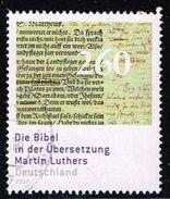 Bund 2017, Michel# 3277 O Die Bibel In Der Übersetzung Martin Luthers - [7] Federal Republic