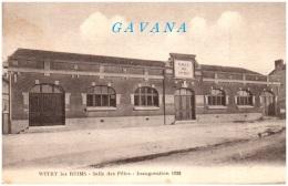 51 WITRY-les-REIMS - Salle Des Fêtes - Inauguration 1928 - France
