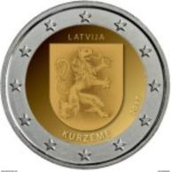 Letonia - 2euro Cc - Región De Kurzeme - 2017 UNC - Lettonie