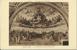Roma - Vaticano - Raphael Sanzio - La Dispute Du Saint Sacrement - Peintures & Tableaux
