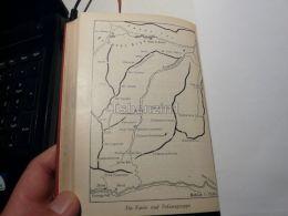 Cortina D'Ampezzo Ampezanner Dolomiten Fanis Und Tofanagruppe Tofane Italy Austria Map Mappa Karte 1928 - Carte Geographique