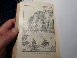 Cortina D'Ampezzo Ampezanner Dolomiten Tofana Di Roces Tofane Italy Austria Map Mappa Karte 1928 - Carte Geographique