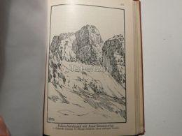 Zoldiner Dolomiten Monte Pelmo Nordwand Rossi Simonanstieg Italy Austria Map Mappa Karte 1928 - Carte Geographique