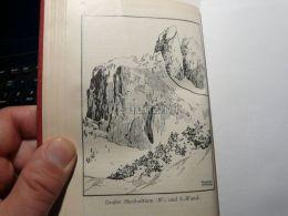 Grödner Dolomiten Val Gardena Grosser Murfreitturm Sella Italy Austria Map Mappa Karte 1928 - Carte Geographique