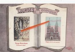 Lourdes QUAREGNON - Vierge Miraculeuse Priez Pour Nous - L'Eglise N-D De Lourdes - Quaregnon