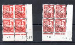 FRANCE N° 115/ 116 - 1953-1960