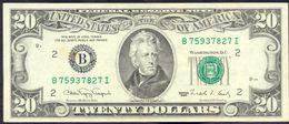 USA 20 Dollar 1990 B XF Rare # P- 487 B - New York NY - Federal Reserve Notes (1928-...)