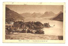 """25338c - Lac D'Annecy - TALLOIRES Et Le Fond Du Lac - (Cartes """"La Cigogne"""" - Strasbourg) - Talloires"""