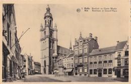 5 - Halle - Basiliek En Grote Markt - Hal - Basilique Et Grand'Place - Halle