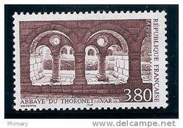 Timbre France .1996 - Y.T. N° 3020 - NEUF * * - ABBAYE DE THORONET Var - France