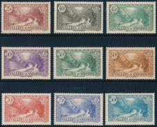 ANDORRA 1937- 43 PONT DE ST. ANTONI - Yvert 61-92, 9v**MNH - Andorra Francese